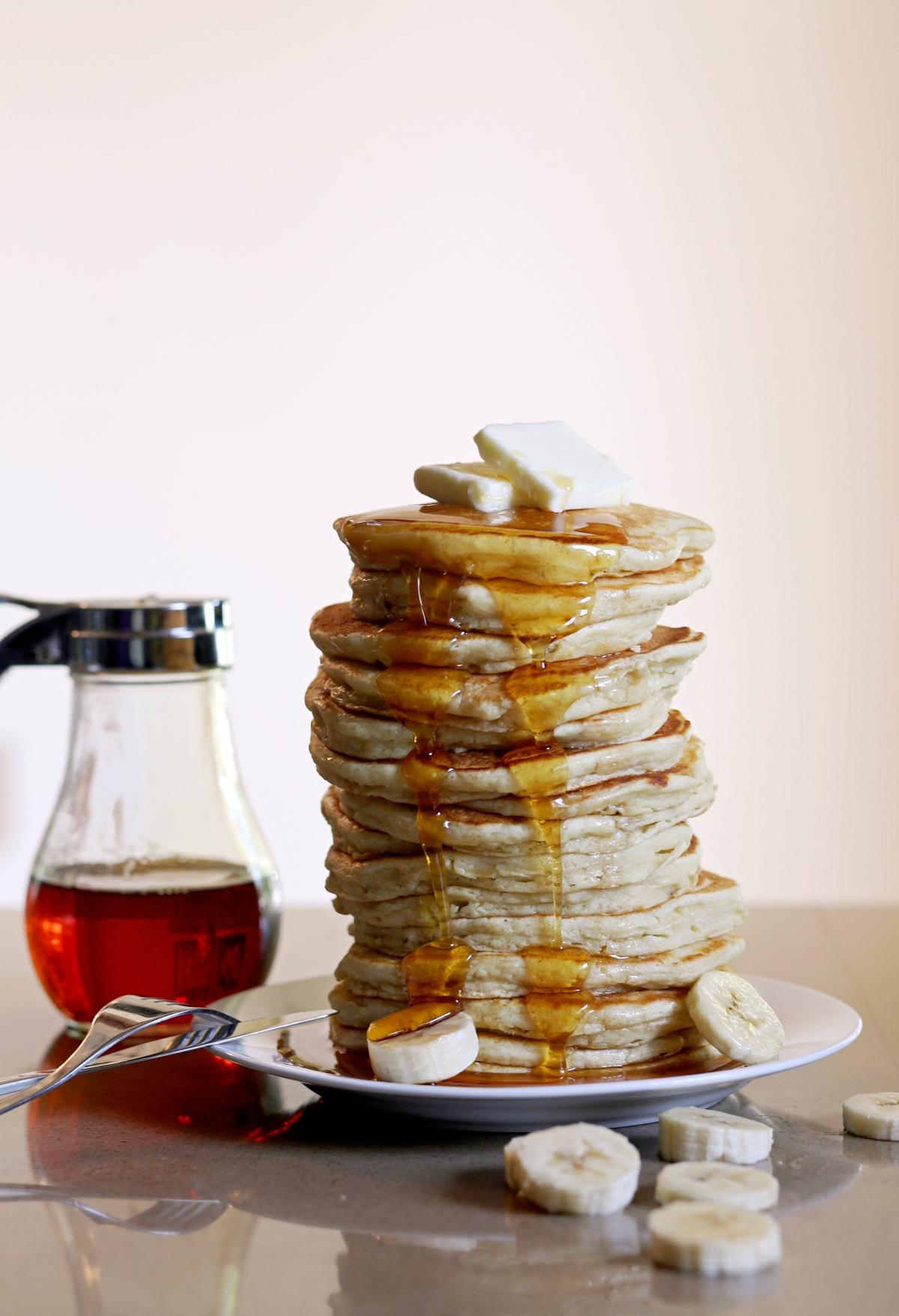 Recipe American ButtermilkPancakes