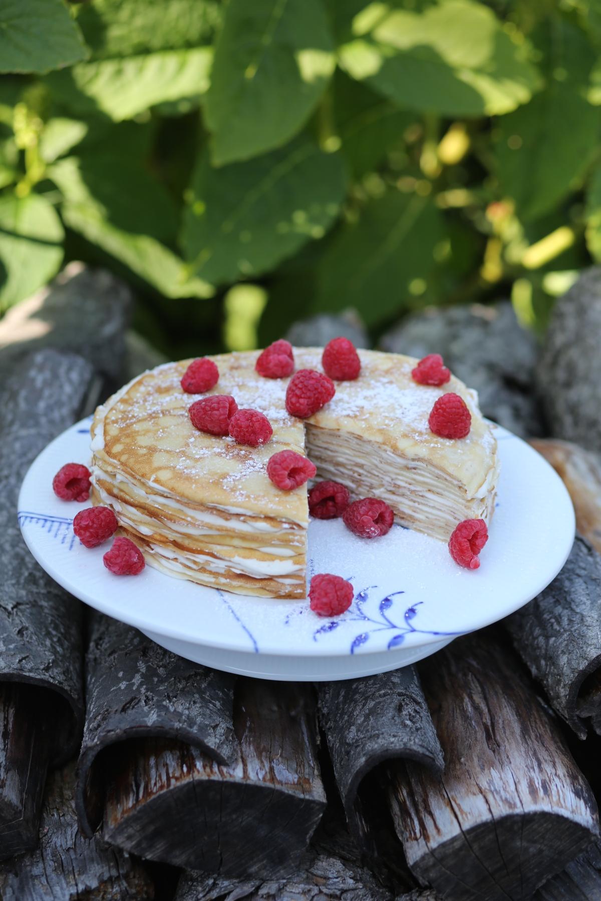 Recipe Pancake Cake (Mille CrepeCake)