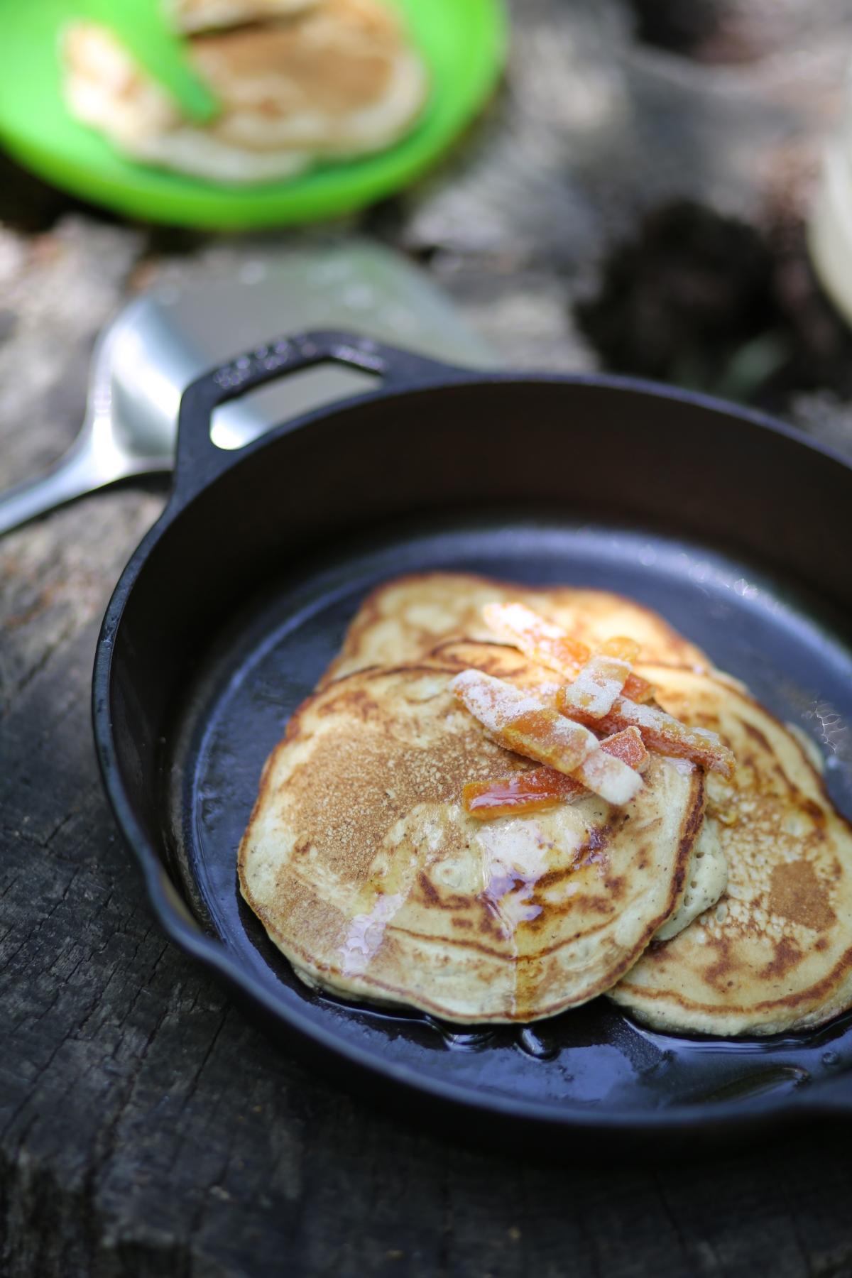 Recipe Campfire Pancakes
