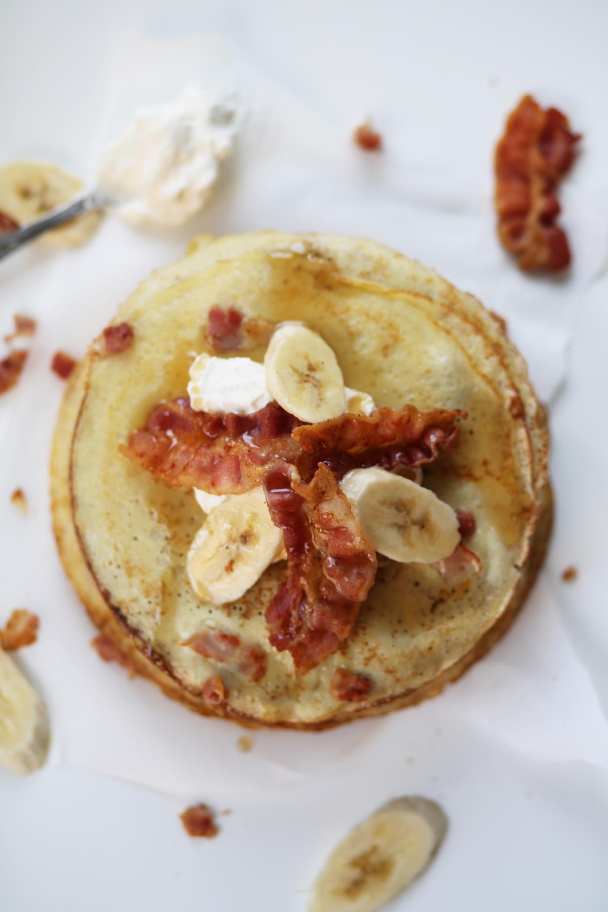 Recipe Bacon Pancakes